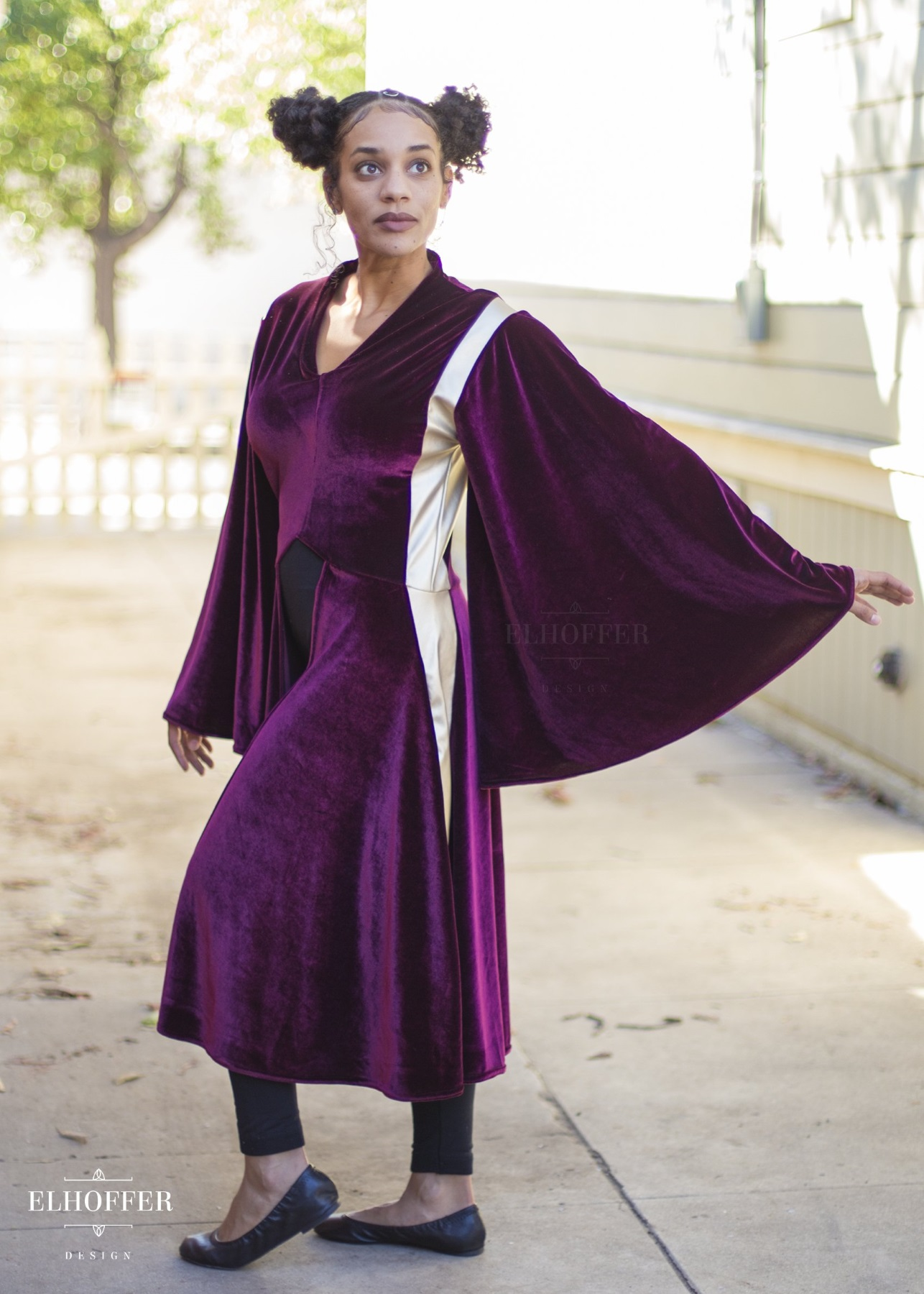 Star Wars Queen Amidala Costume Inspired Galactic Battle Queen Tunic by Elhoffer Design