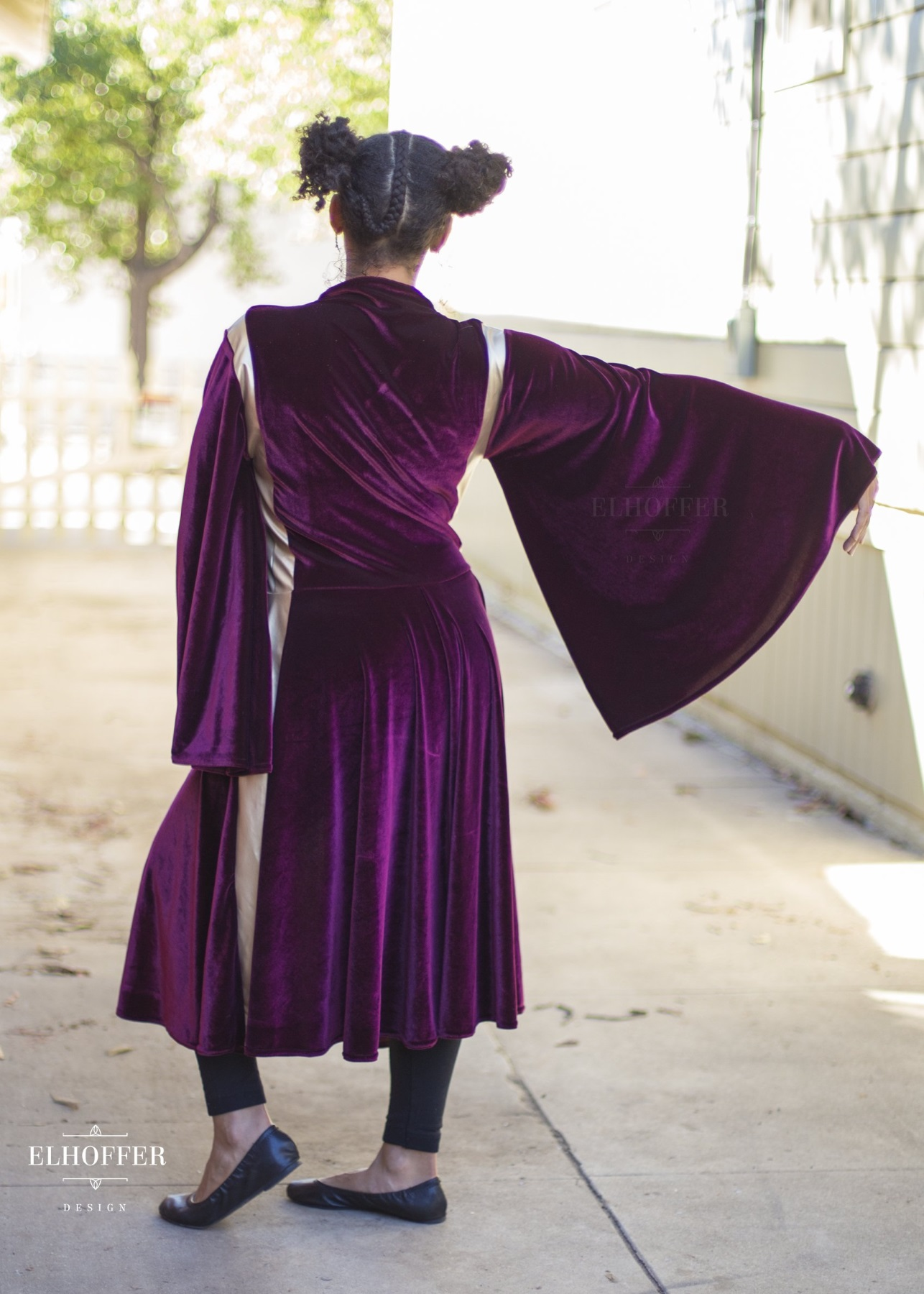 Star Wars Queen Amidala Costume Inspired Galactic Battle Queen Tunic by Elhoffer Design