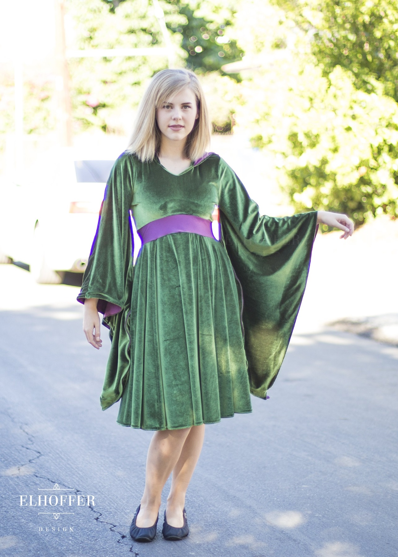 Star Wars Padme Amidala Velvet Dress by Elhoffer Design