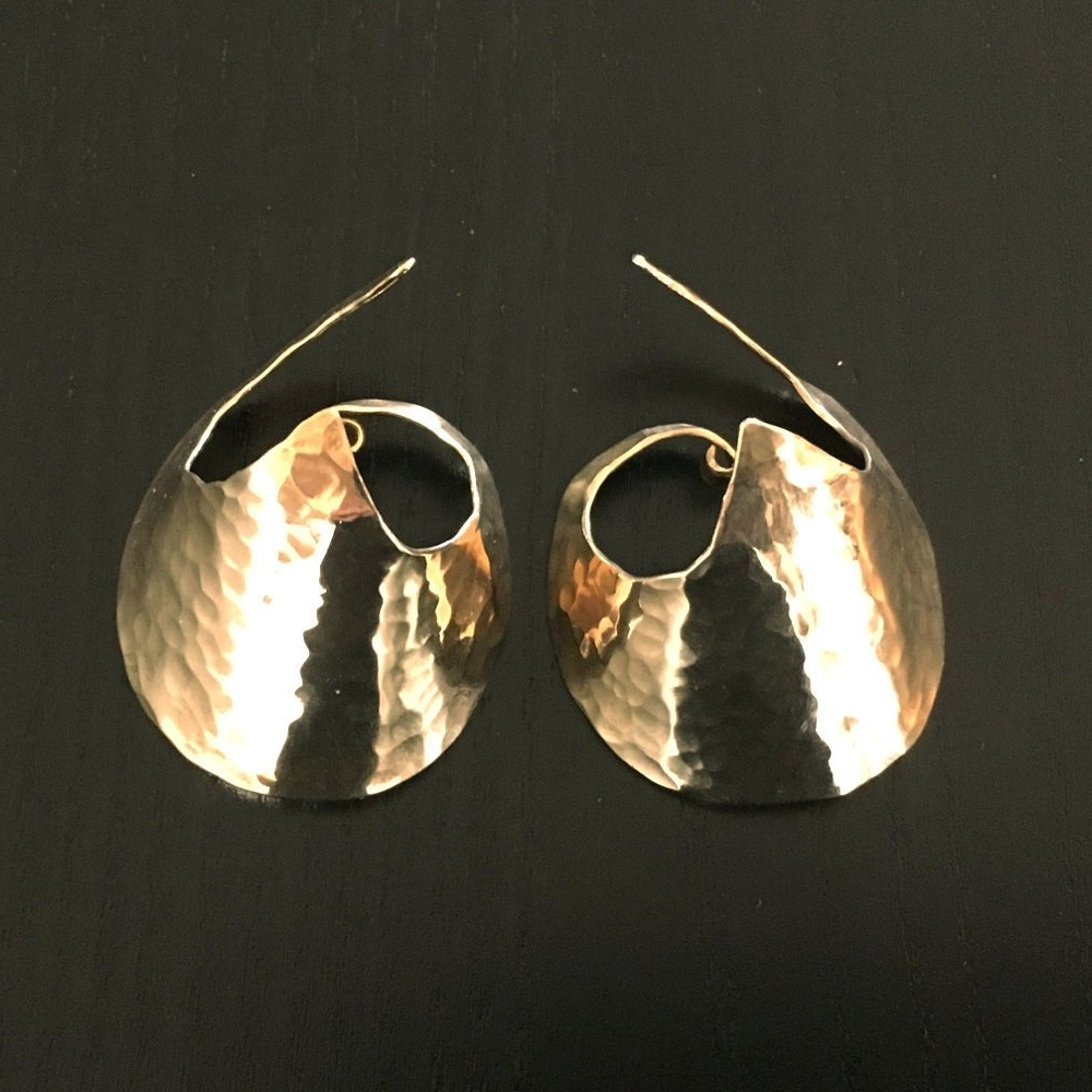 Star Wars General Leia Inspired Earrings by TheMoonlightMyth on Etsy