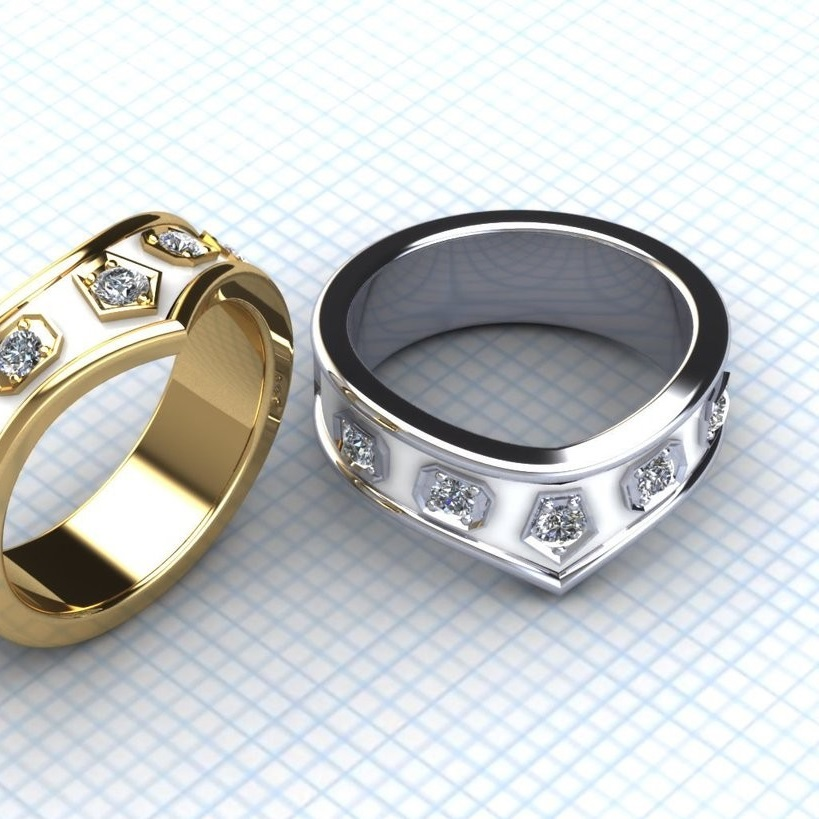 Star Wars Princess Leia Inspired Ring by Geek.Jewelry