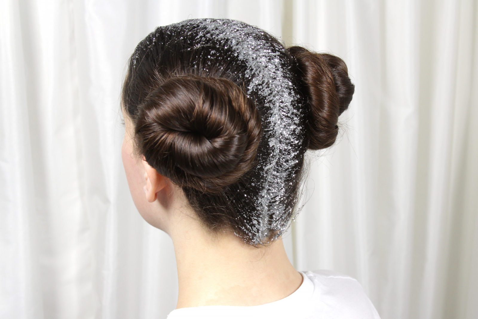 Glitter For Carrie – Princess Leia Hairstyle
