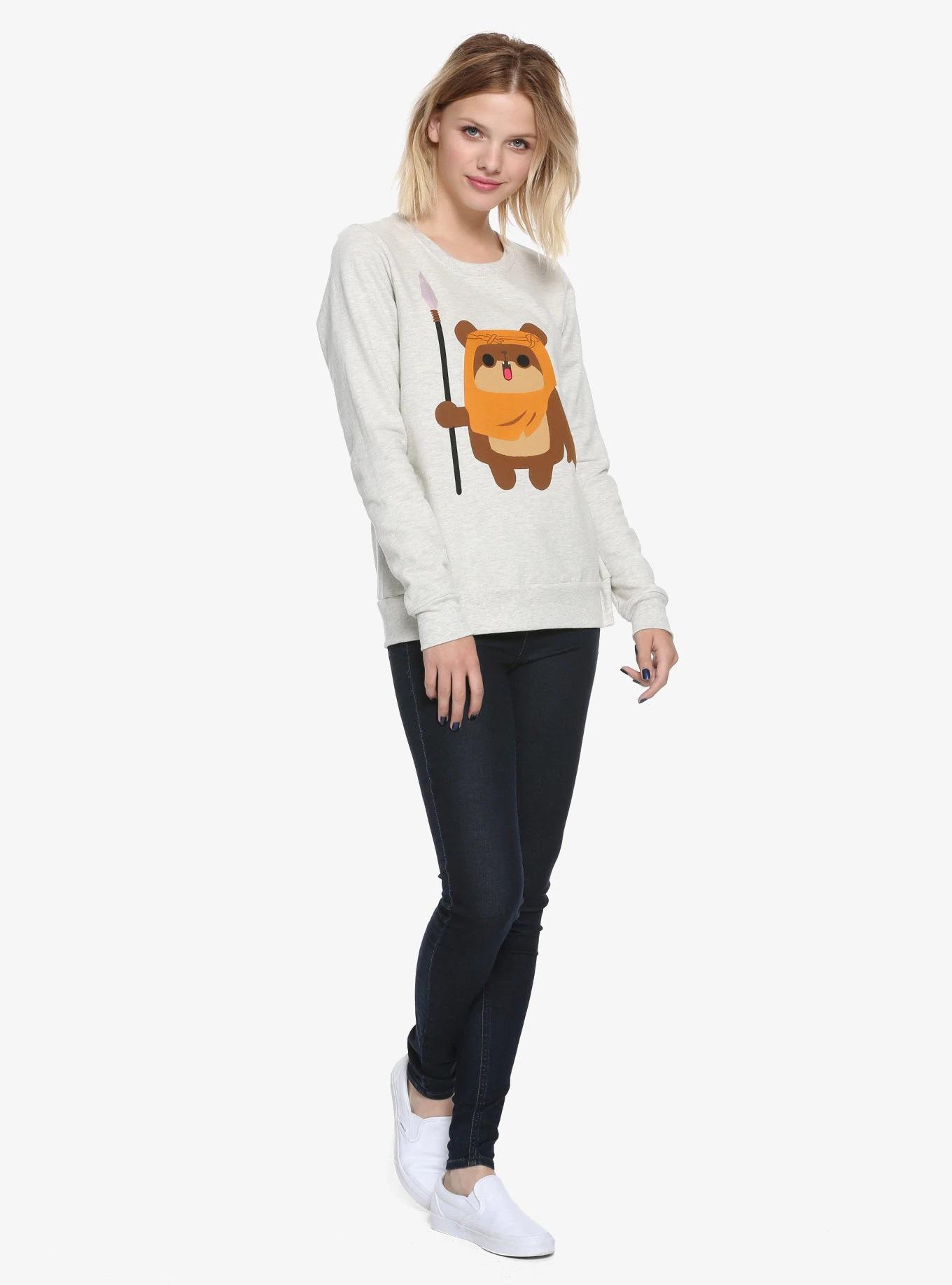 Women's Her Universe x Star Wars Chibi Ewok Sweatshirt