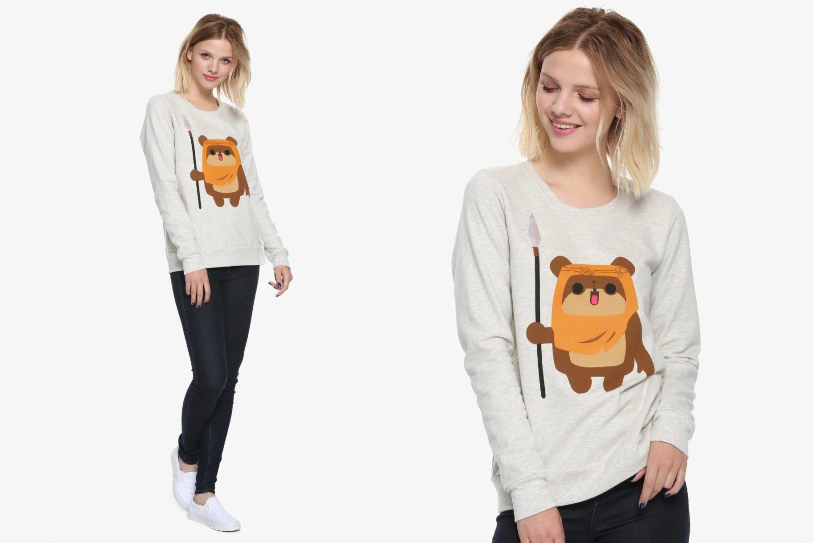 Women's New Her Universe Ewok Sweatshirt