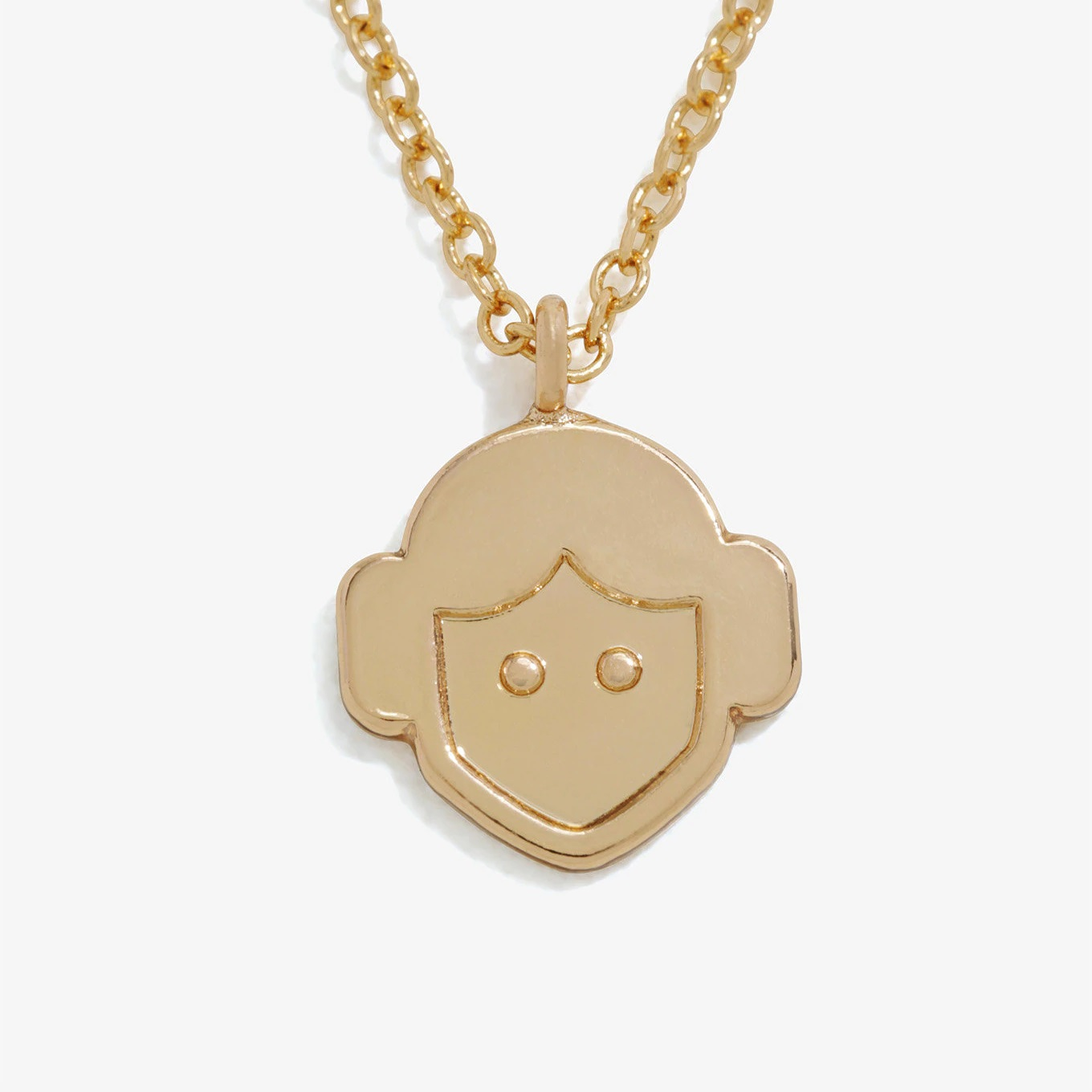 Love And Madness x Star Wars Princess Leia Emoji Necklace at Her Universe