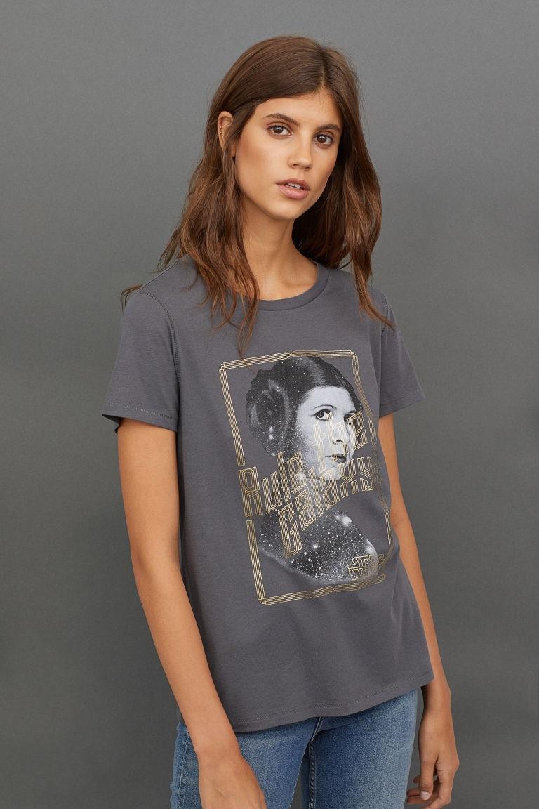Women's Star Wars Princess Leia T-Shirt at H&M