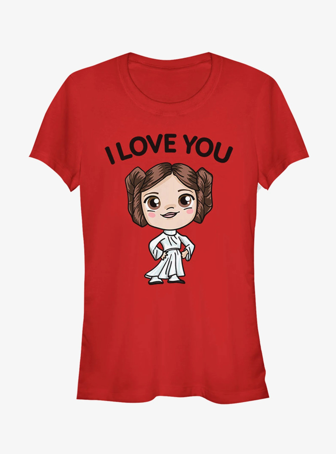Women's Star Wars Princess Leia I Love You T-Shirt at Hot Topic