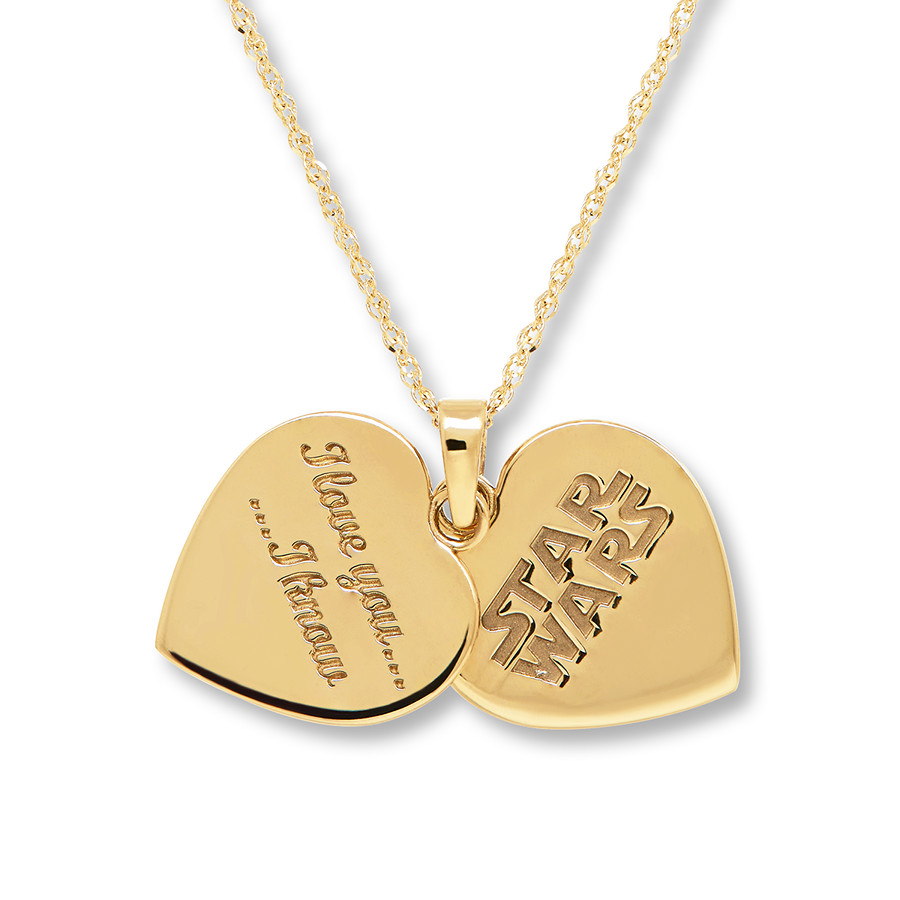 Kay Jewelers x Star Wars I Love You - I Know Heart Shaped Necklace