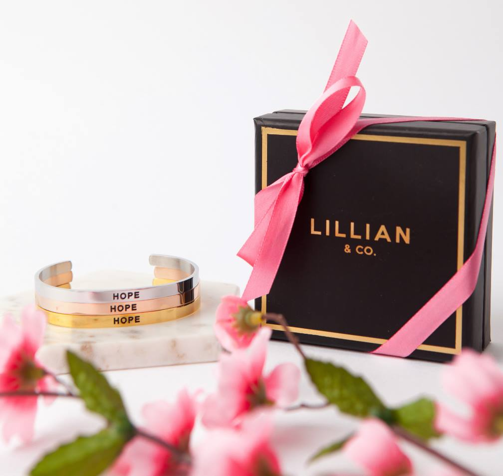 Lillian & Co - Star Wars Princess Leia Hope Bracelets
