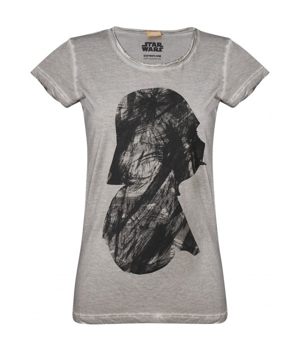 Women's Darth Vader Profile T-Shirt at Musterbrand