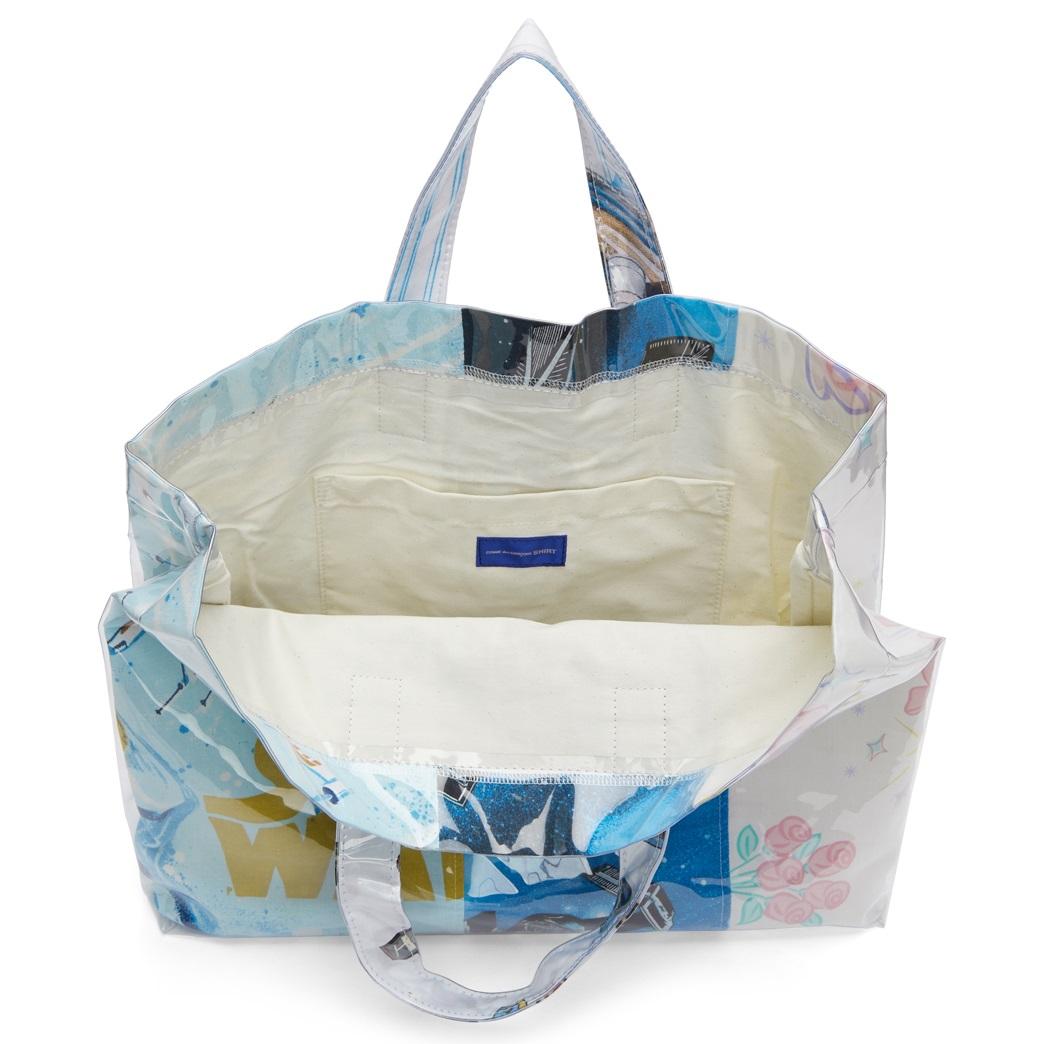 Comme des Garçons Star Wars Sheets Tote Bag at SSENSE