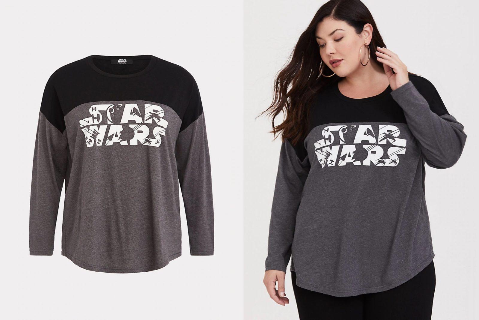 Her Universe Star Wars Plus Size Top at Torrid