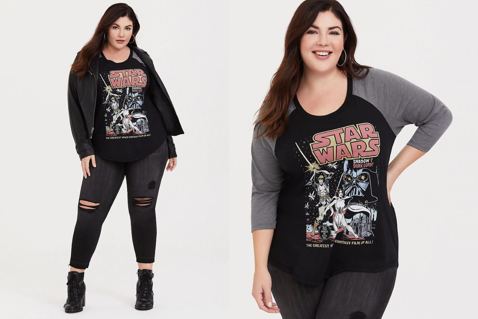 Women's Star Wars Plus Size Raglan Tee