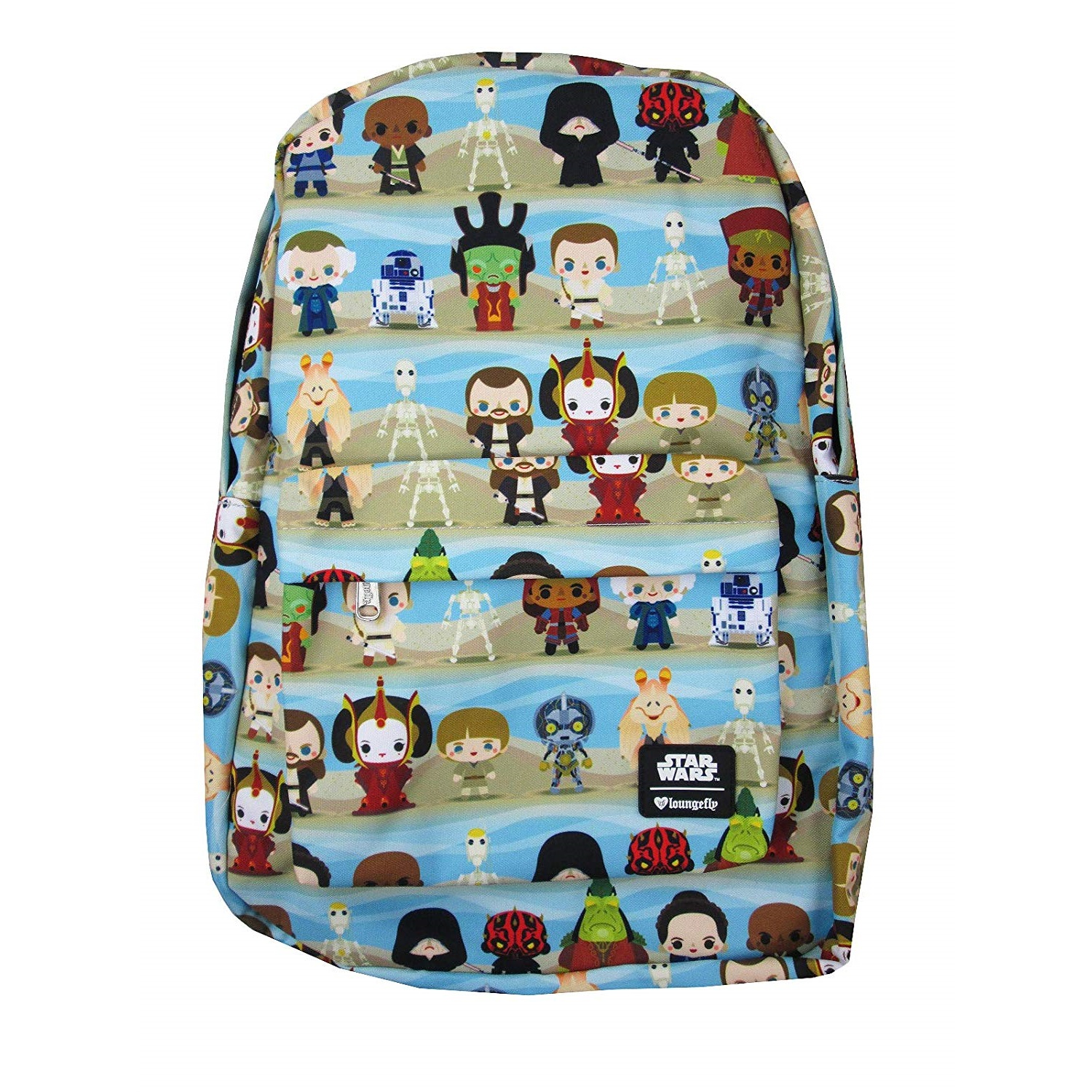 Loungefly x Star Wars The Phantom Menace Chibi Backpack on Amazon