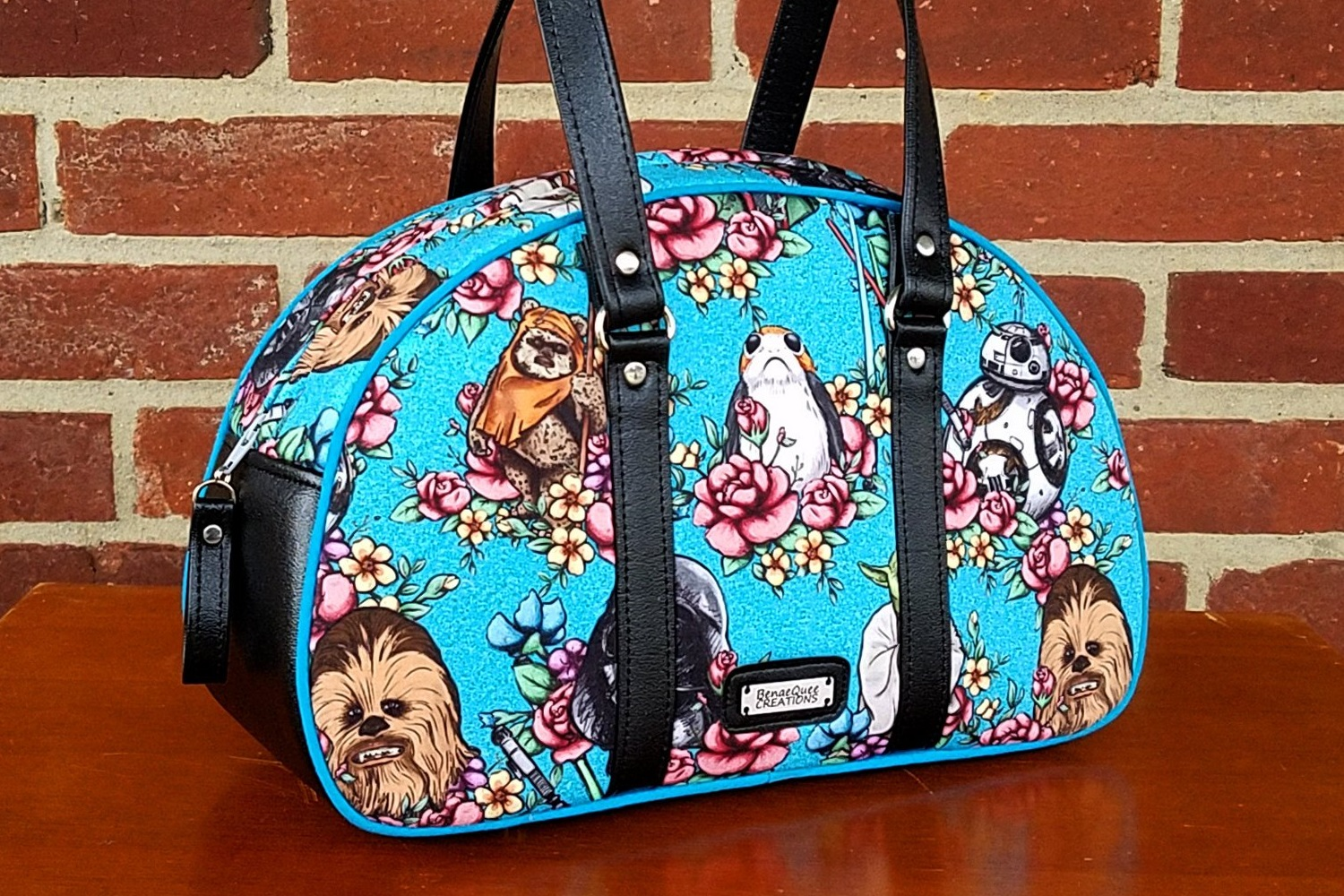 New Star Wars Floral Handbag by BenaeQuee