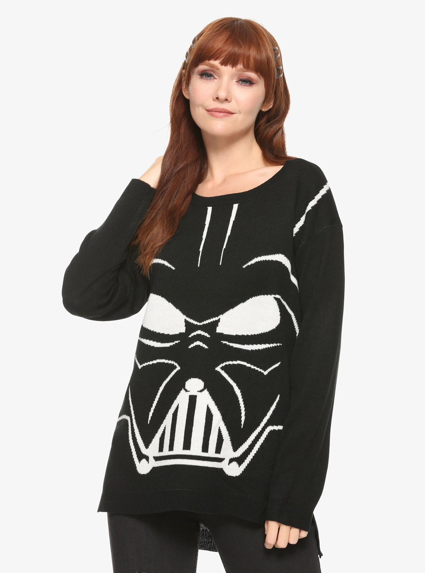 Women's Her Universe x Star Wars Darth Vader Sweater at Hot Topic