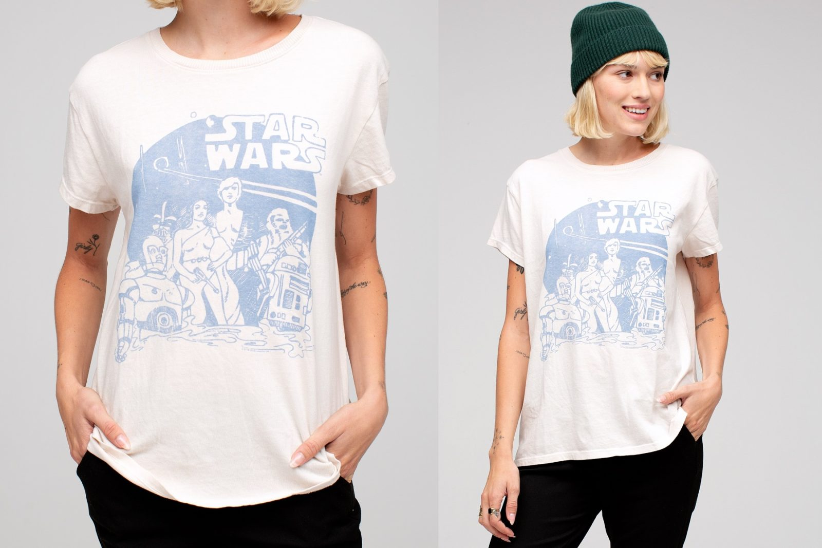 Women's Star Wars Tee by Junk Food Clothing