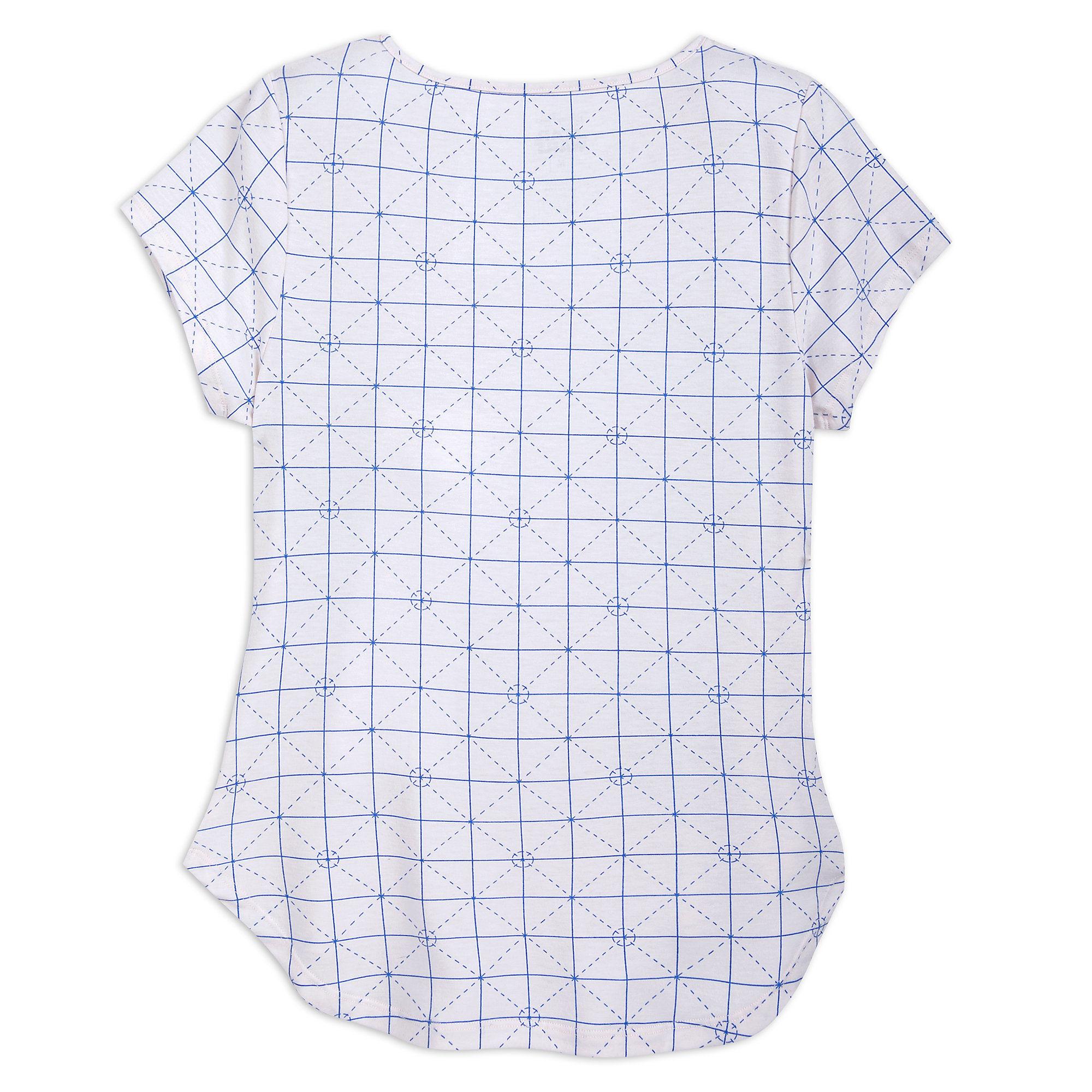 Women's Star Wars Blueprint T-Shirt at Shop Disney