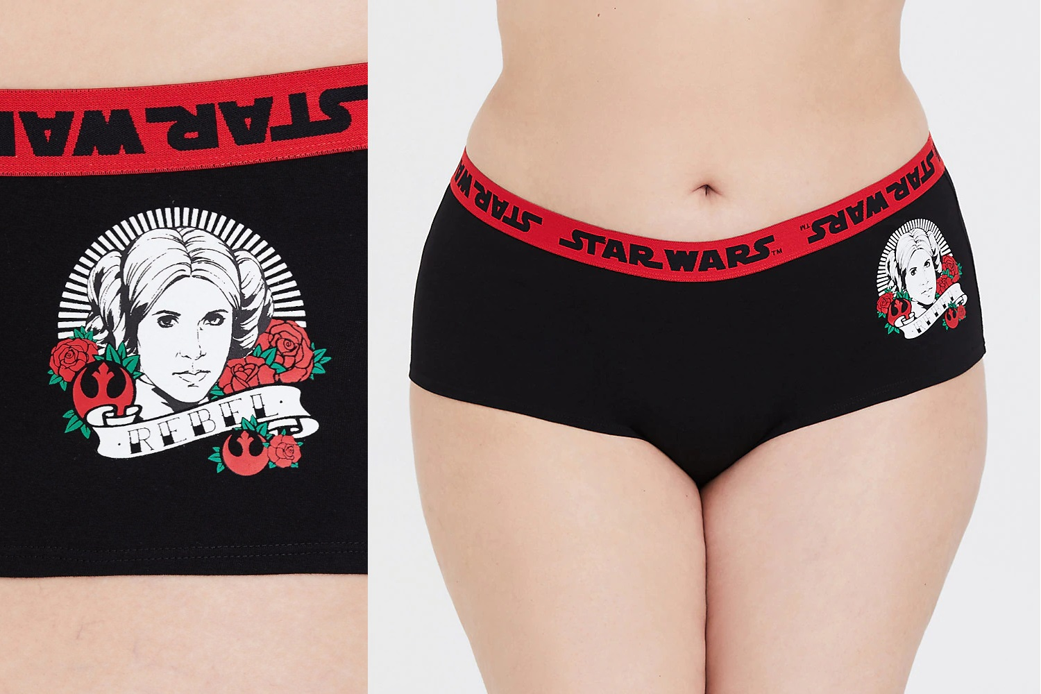 Women's Star Wars Rebel Plus Size Underwear