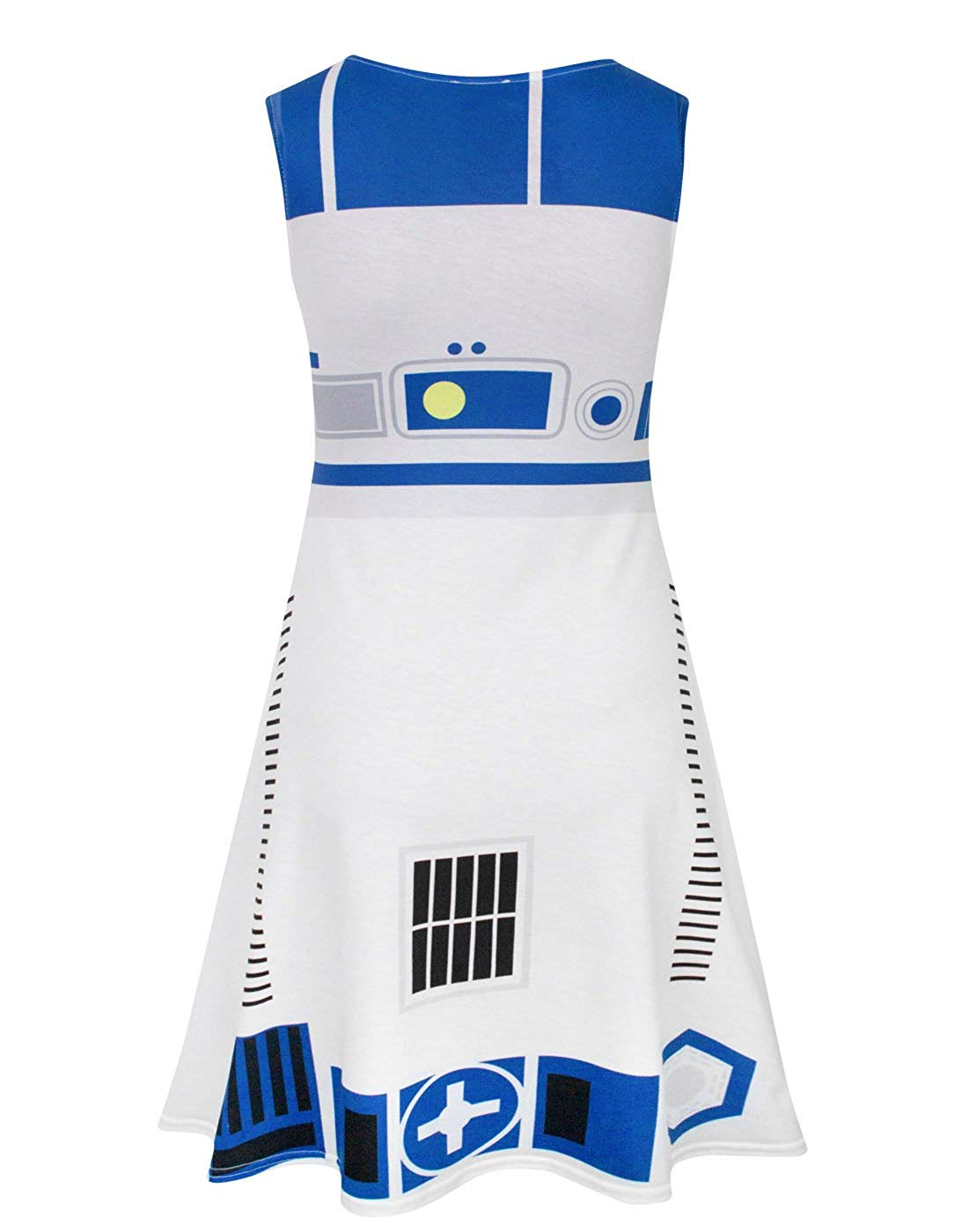 Women's Star Wars R2-D2 Everyday Cosplay Dress on Amazon