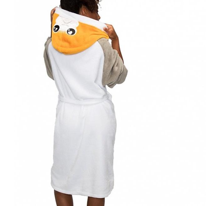 Women's Star Wars Porg Hooded Dressing Gown at TruffleShuffle