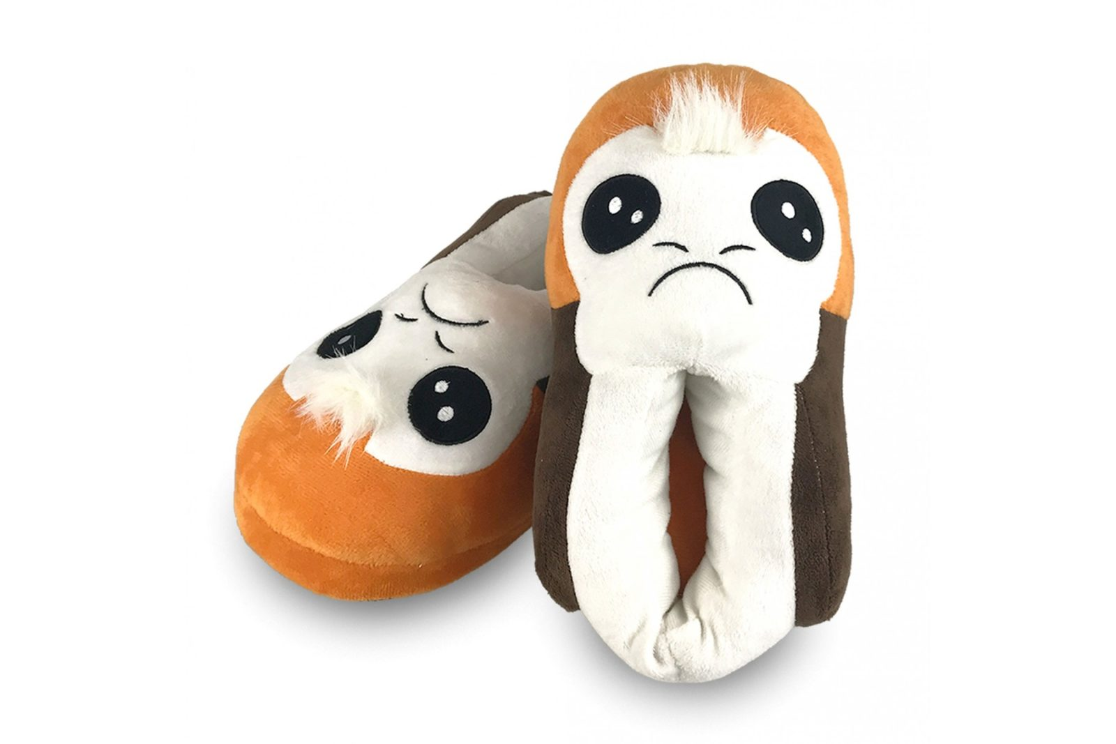 Women's Star Wars Plush Porg Slippers