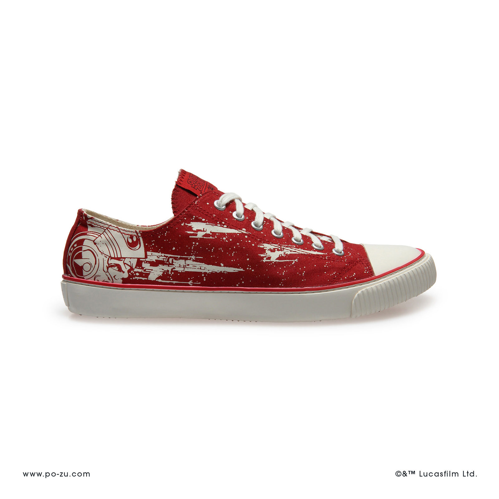 Po-Zu x Star Wars Red X-Wing Sneakers