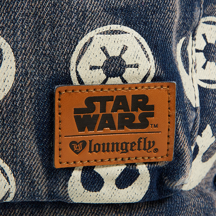 Loungefly x Star Wars Rebel Imperial Logo Backpack at ThinkGeek