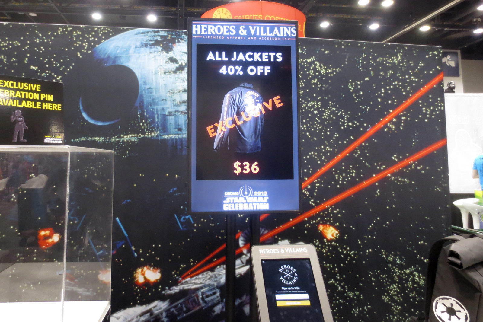 Heroes & Villains at Star Wars Celebration Chicago 2019