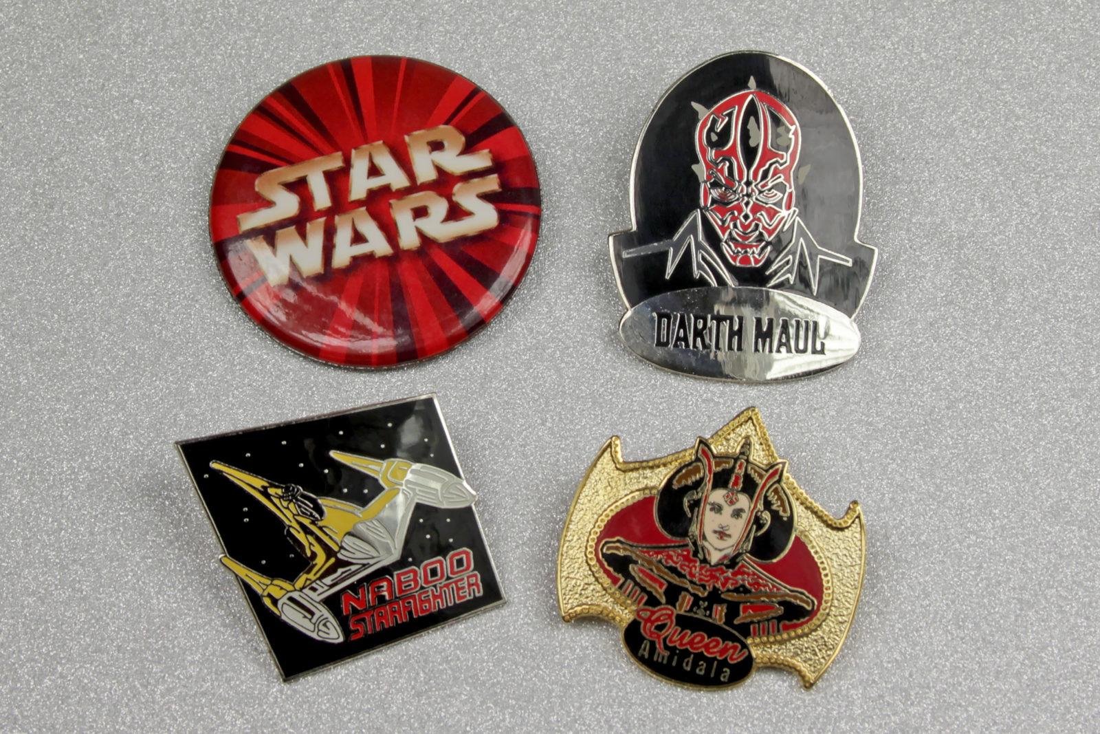 Star Wars The Phantom Menace Pins