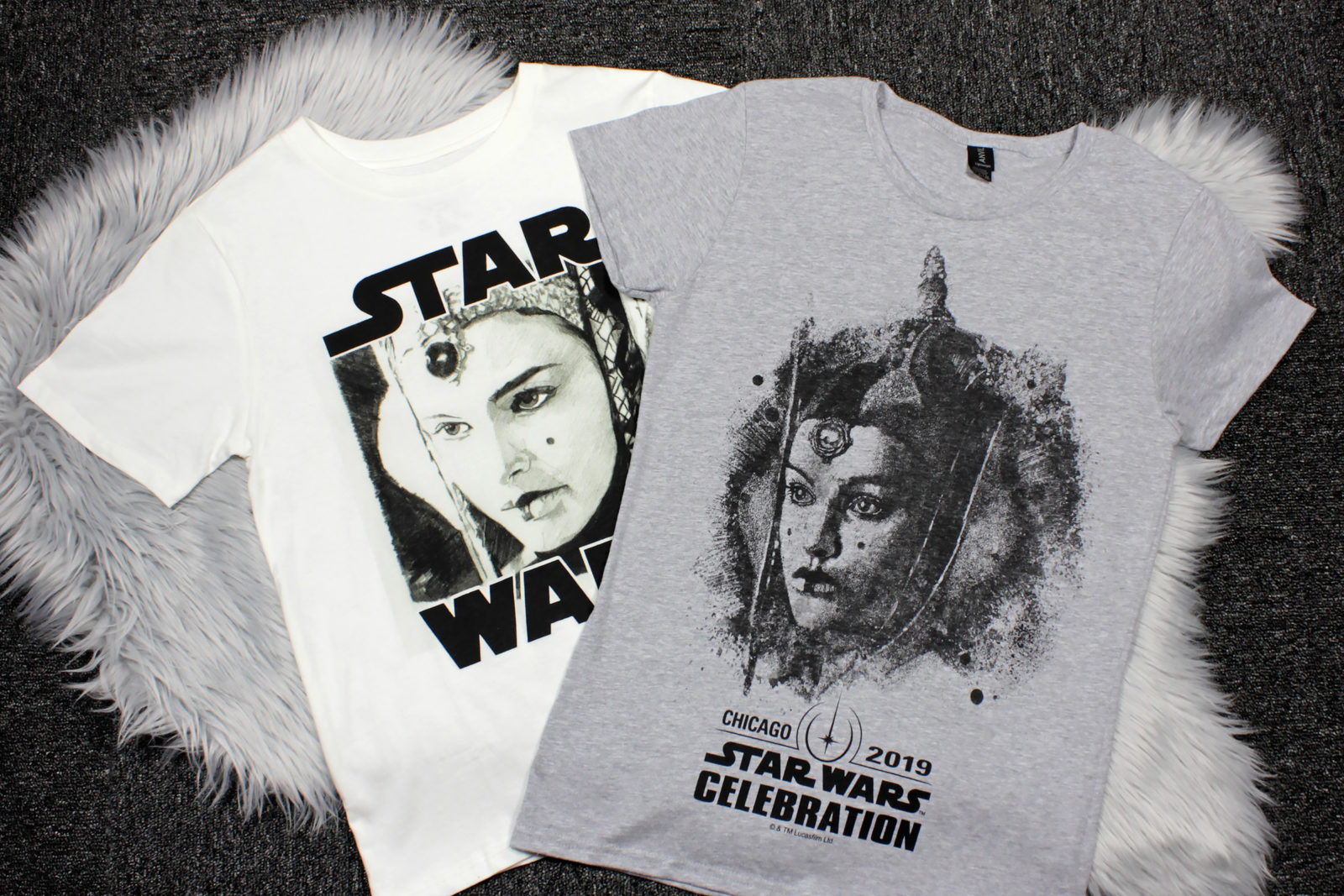 Star Wars The Phantom Menace Queen Amidala T-Shirts from Forever 21 and Star Wars Celebration Chicago