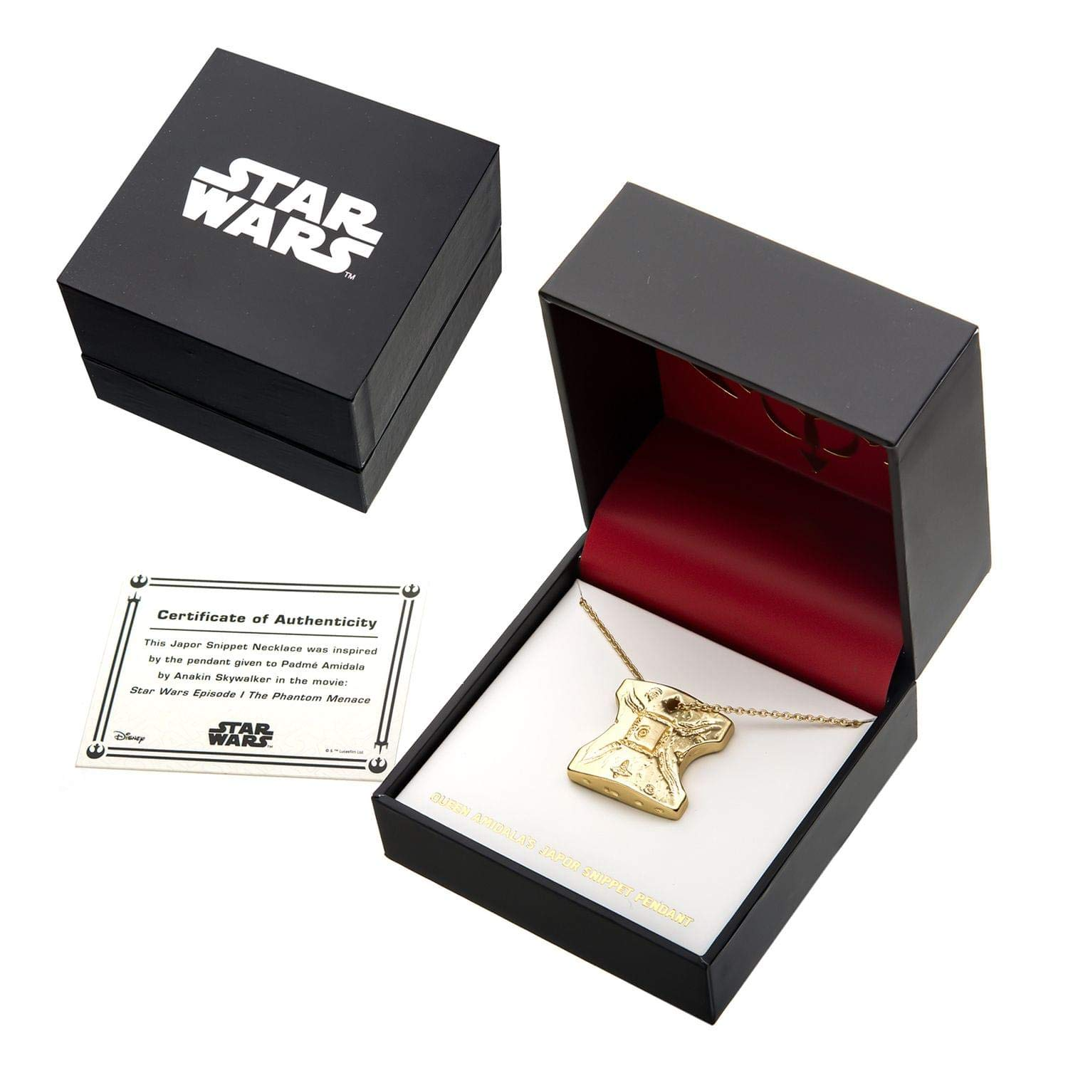 Body Vibe x Star Wars Padme' Amidala Japor Snippet Replica Necklace on Amazon