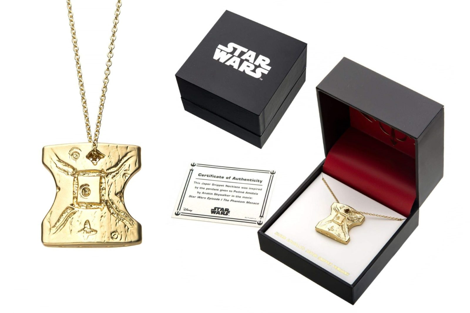 Star Wars Japor Snippet Necklace on Amazon
