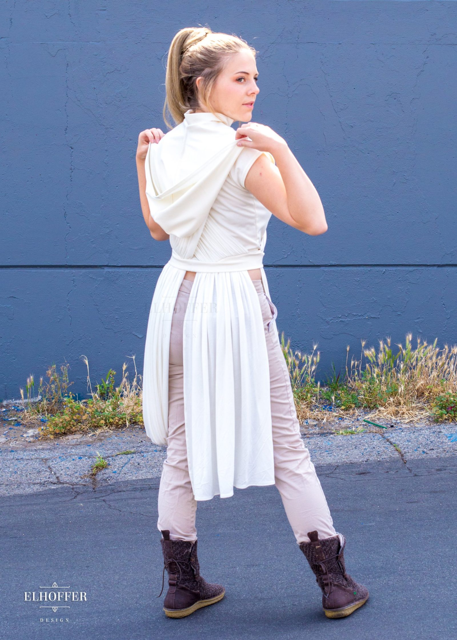 Elhoffer Design - Star Wars Rey Inspired Galactic Scavenger Hooded Top
