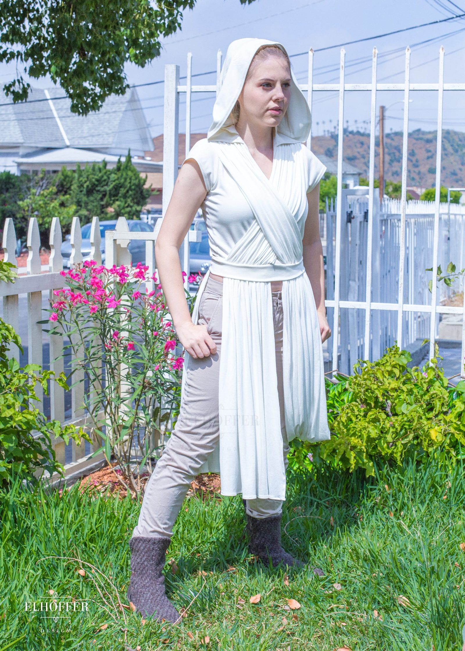 Elhoffer Design - Star Wars Rey Inspired Galactic Scavenger Hooded Top