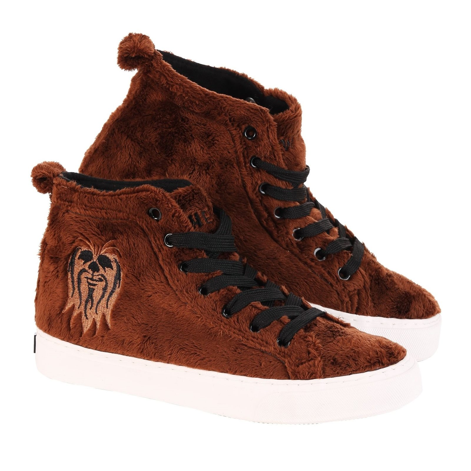 Star Wars Chewbacca Faux Fur High Top Sneakers at Fun