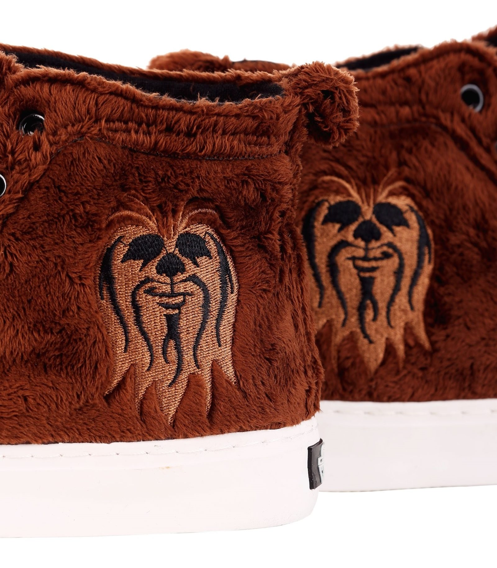 Star Wars Chewbacca Faux Fur High Top Sneakers at Fun