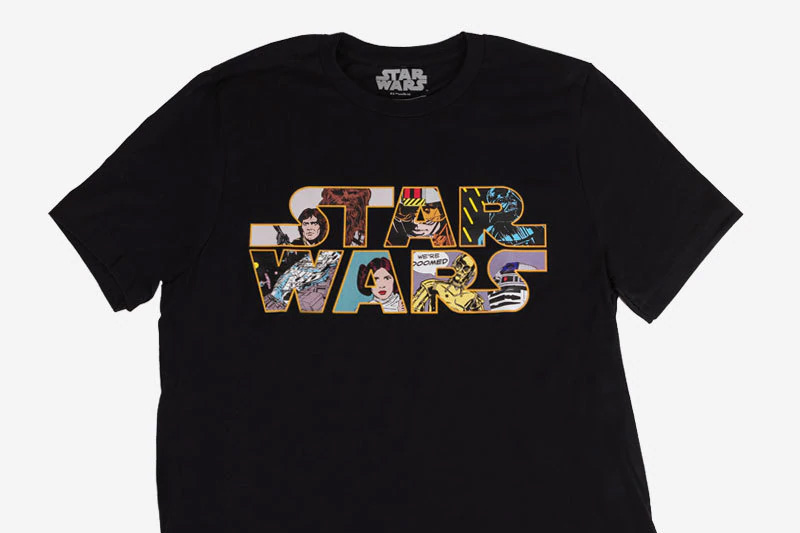 Harveys Star Wars Crew Neck Tee