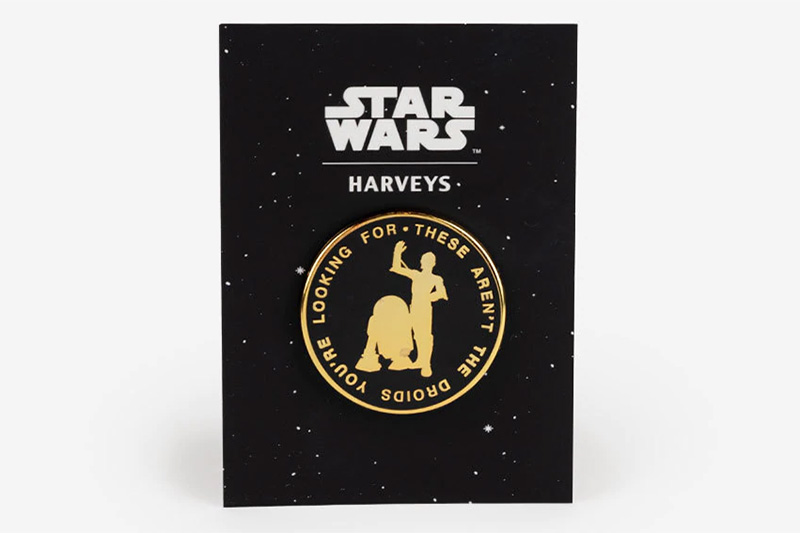 Harveys Lapel Pin - Droids