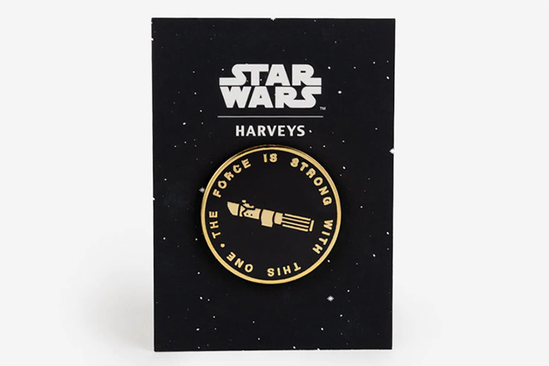 Harveys Lapel Pin - The Force Is Strong