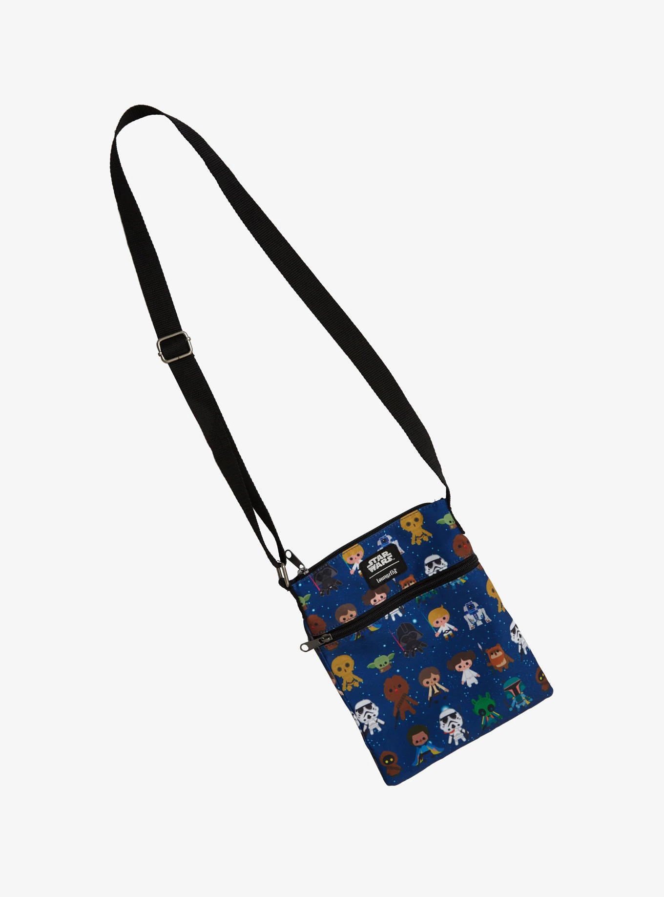 Loungefly x Star Wars Chibi Character Crossbody Bag at Hot Topic