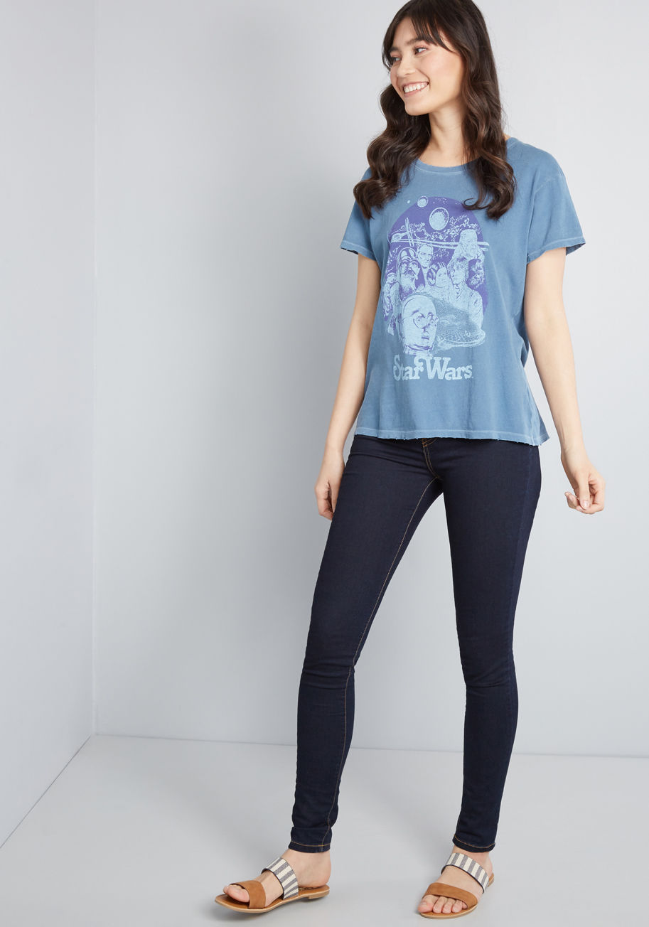 Women's Star Wars vintage style t-shirt at ModCloth