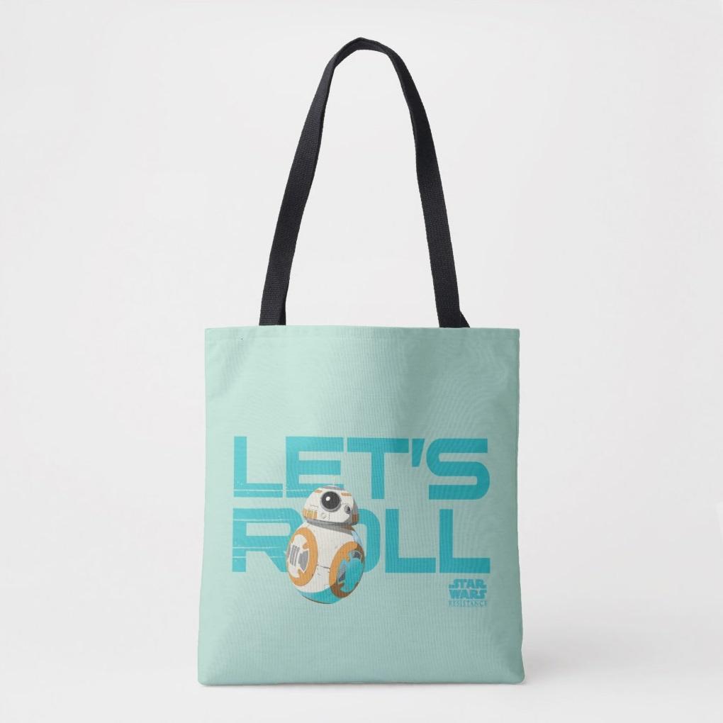 Star Wars Resistance BB-8 Let's Roll Tote Bag at Shop Disney