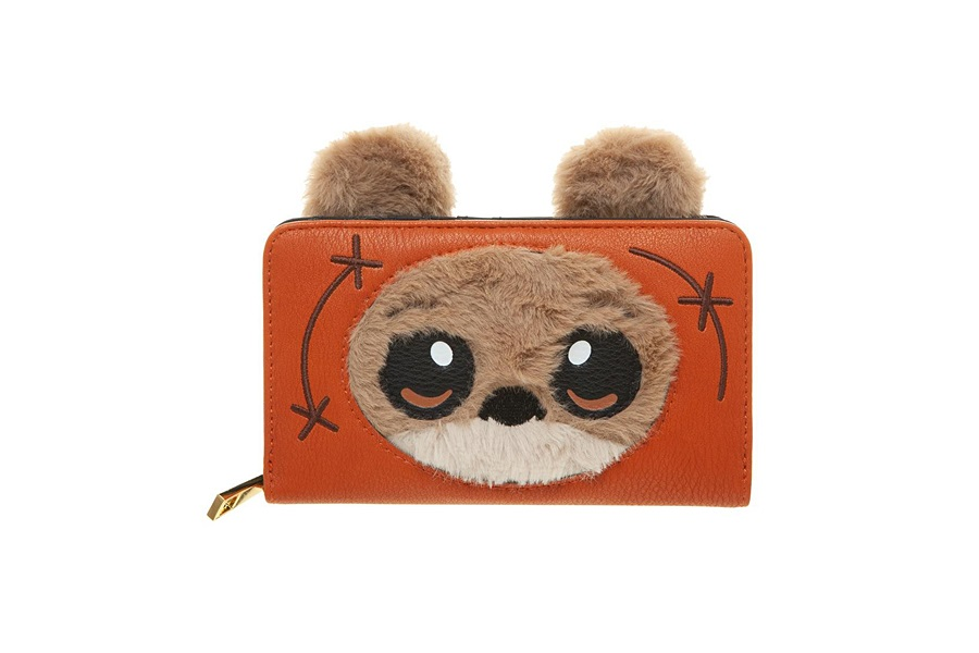 Bioworld Star Wars Ewok Zip-Up Wallet