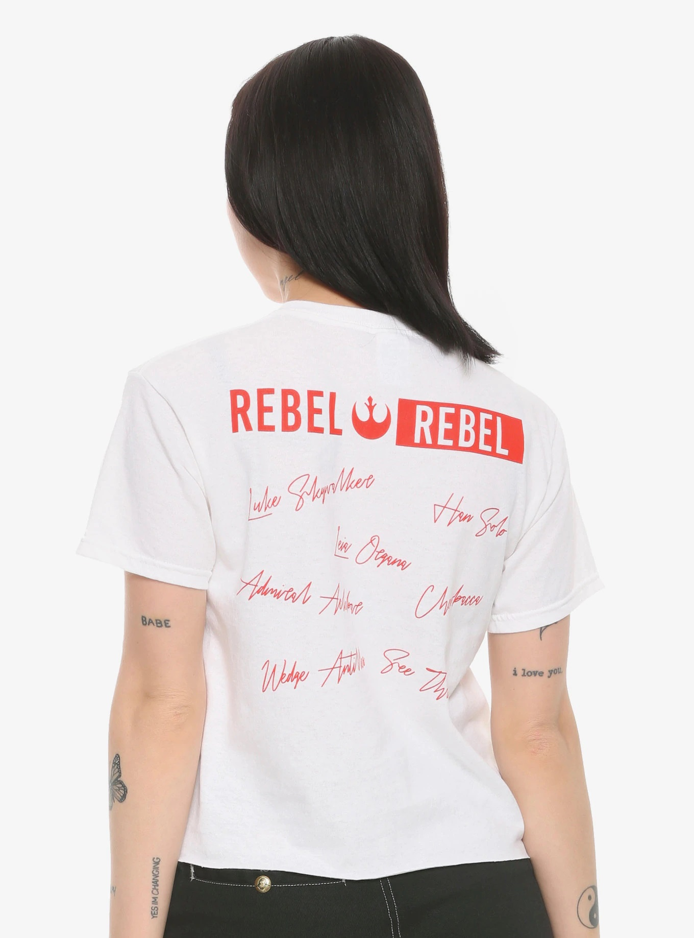 Women's Star Wars Rebel Roll Call T-Shirt at Hot Topic