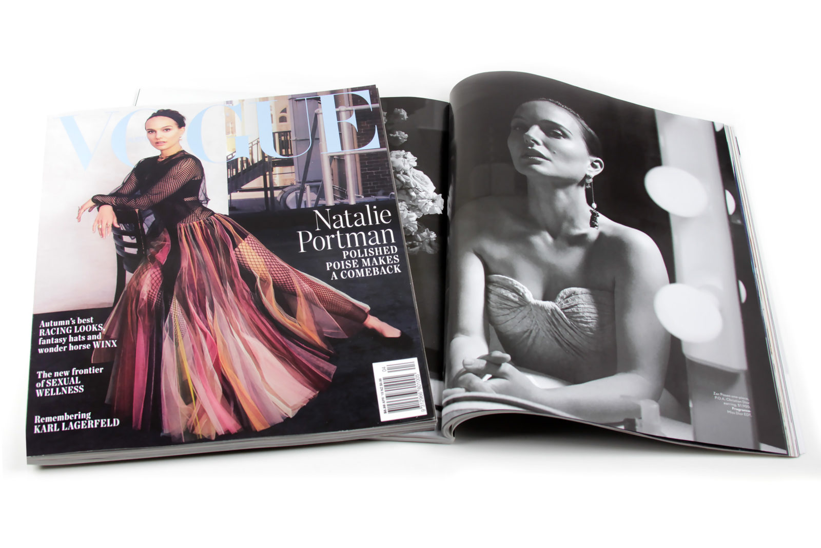 Vogue Australia April 2019 - Natalie Portman