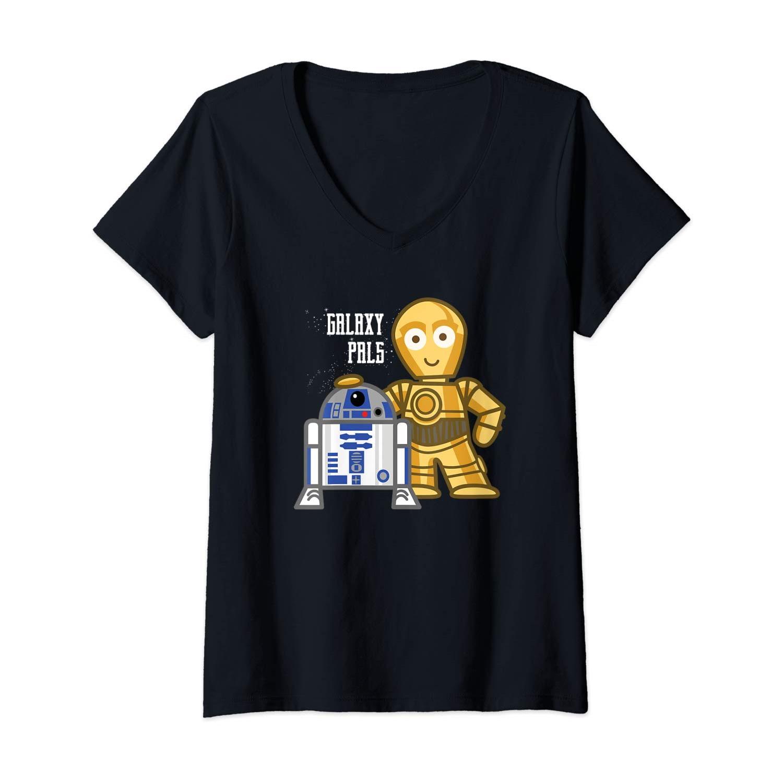 Women's Star Wars C-3PO & R2-D2 T-shirt on Amazon