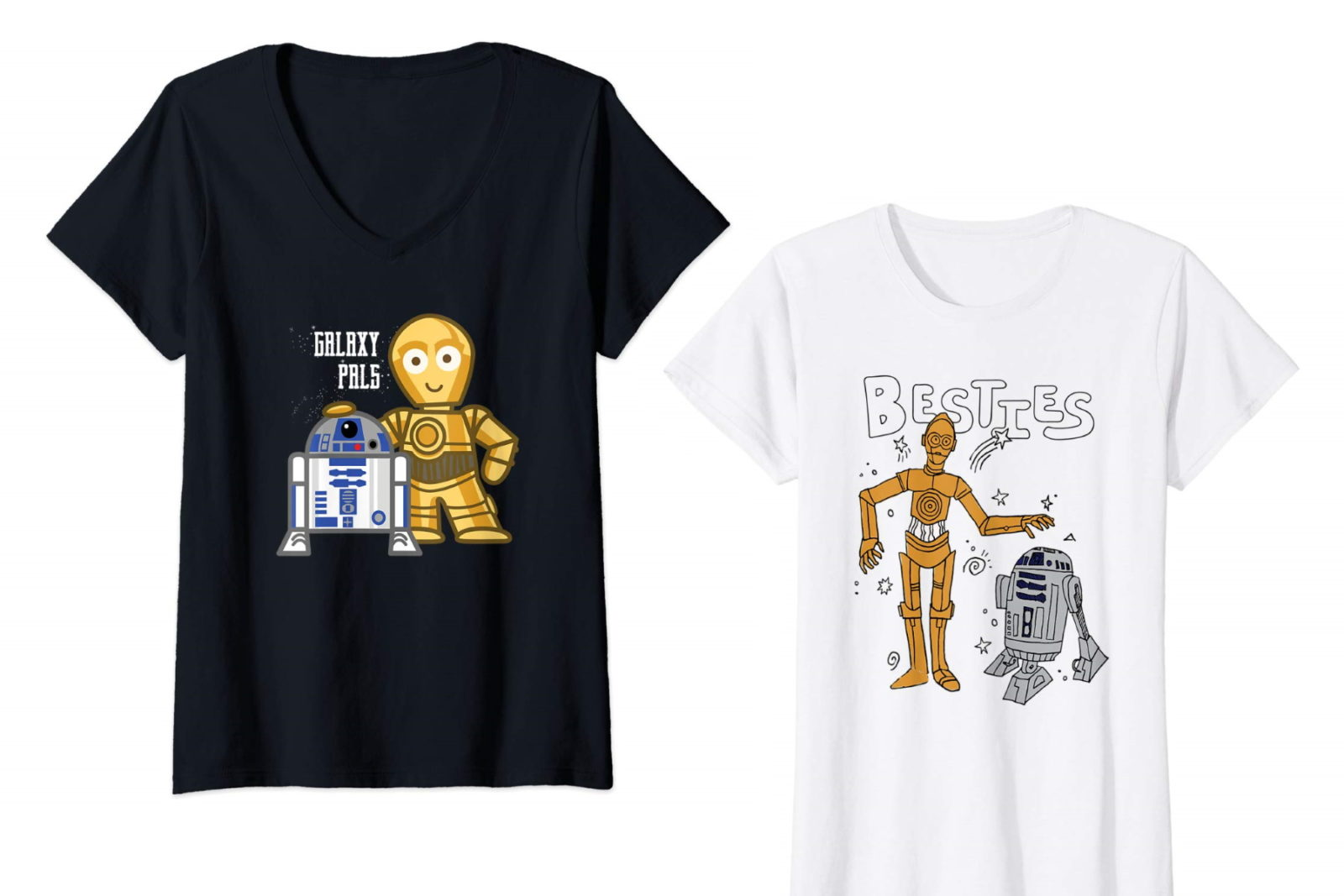 Celebrate Friendship Day with Star Wars Tees