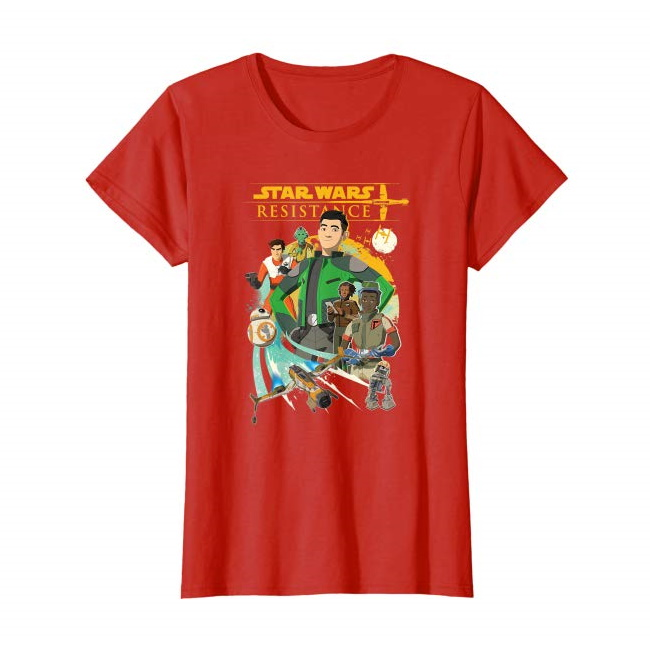 Women's Star Wars Resistance T-Shirt on Amazon