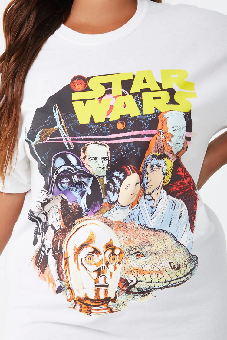 Women's Star Wars Plus Size T-Shirt at Forever 21